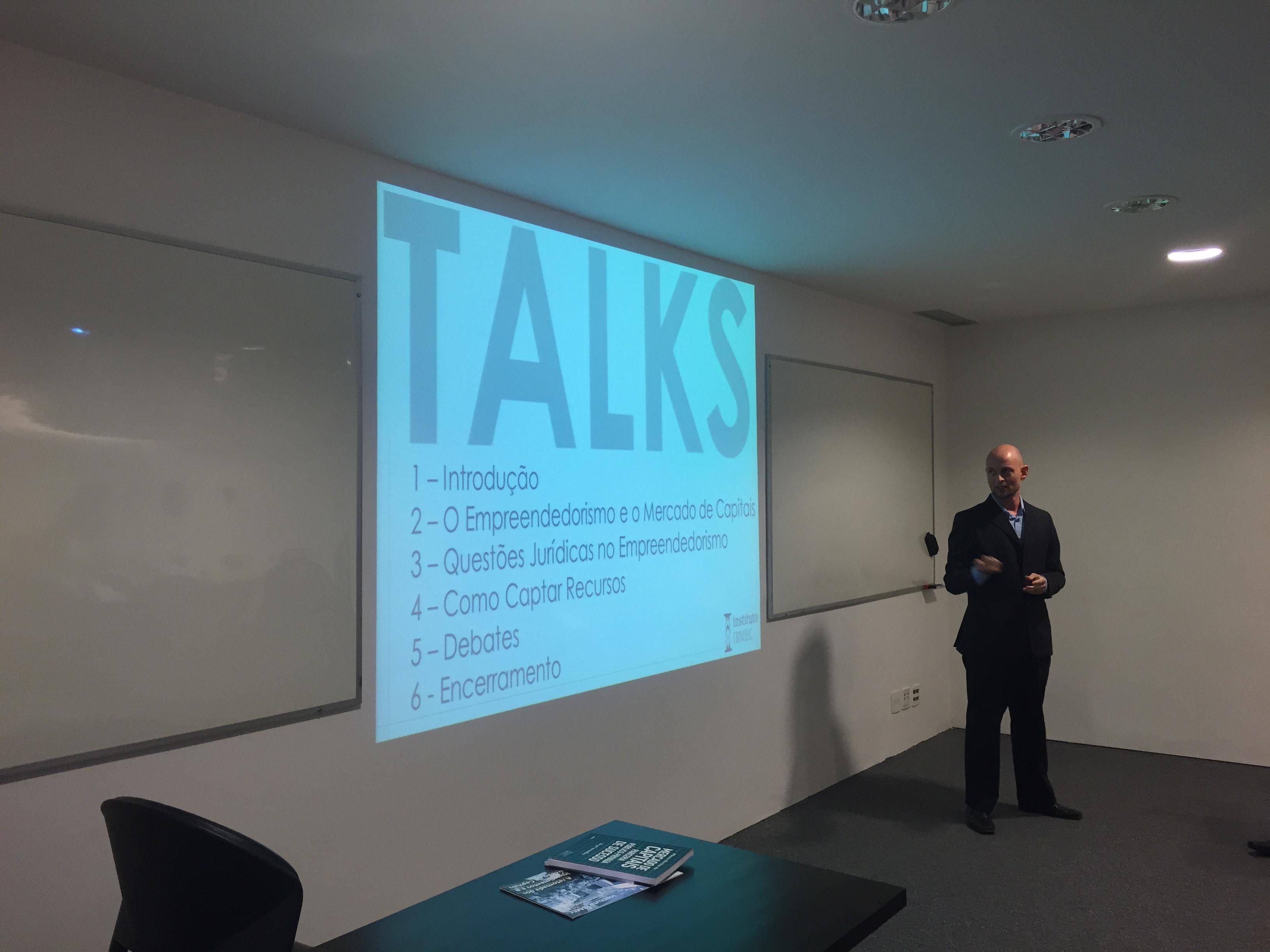 Luiz Guilherme Guedes - IBMEC Talks #1
