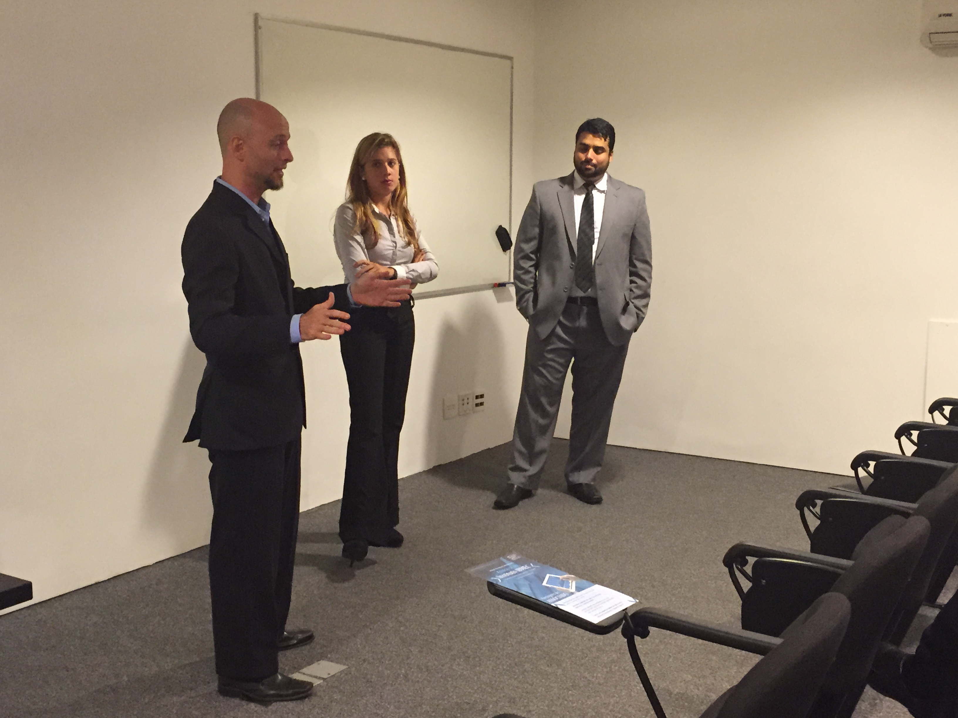 Luiz Guilherme Guedes, Marcella Blok e Daniel Barreto - IBMEC Talks #1
