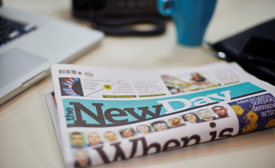 O jornal impresso não morreu
