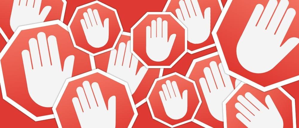 """Querem bloquear os """"ad blockers"""""""