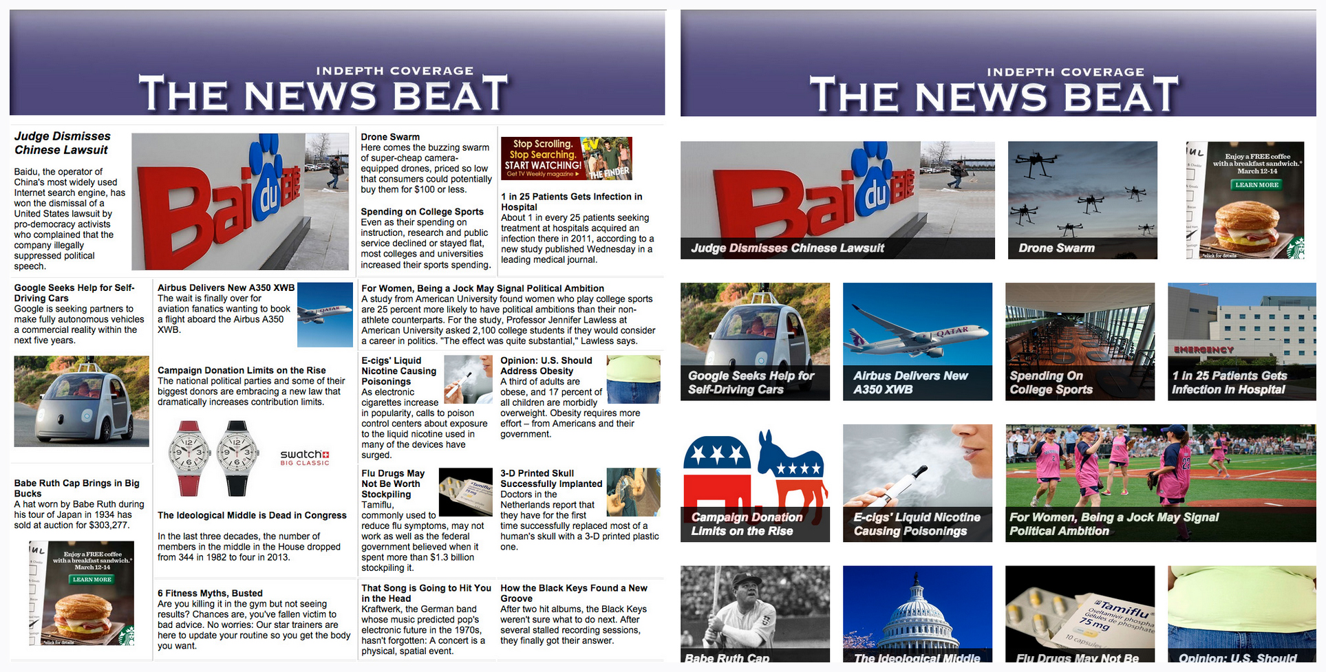 The News Beat
