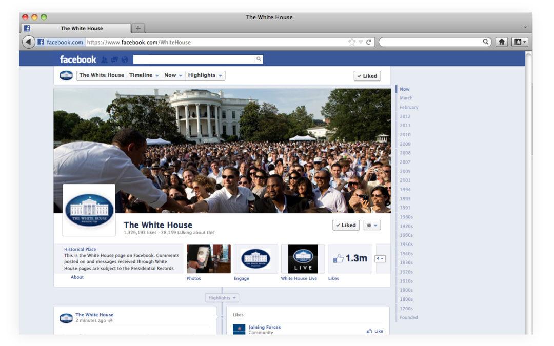 Zuckerberg para presidente?