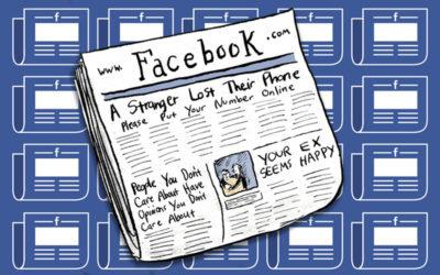 Facebook é o principal canal de notícias dos jovens. Muitas vezes, o único